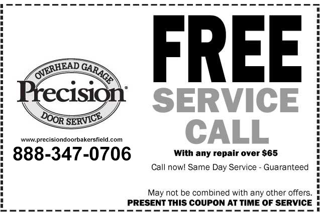 Free Service Call Precision Doors Of Orange County