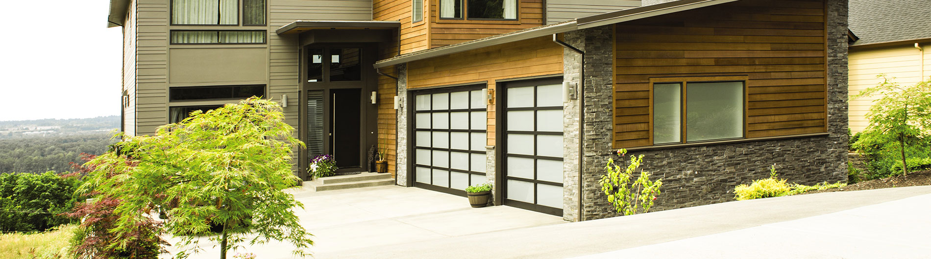 Aluminum Glass Garage Doors 8800 From Precision Door & Aluminum Glass Garage Doors 8800 From Precision Door - Precision ...